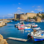 Fortress in Kyrenia (Girne), North Cyprus